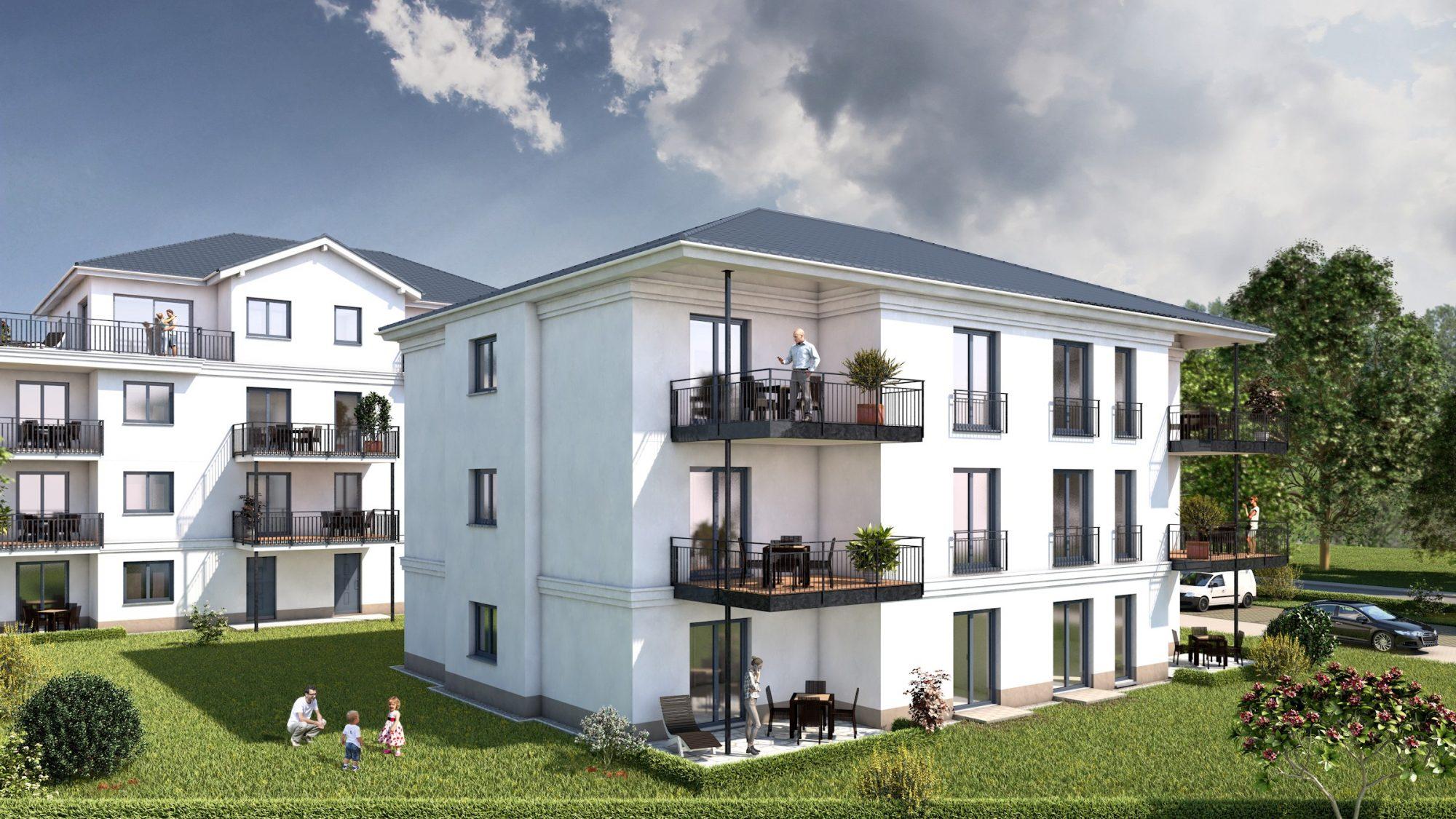 Cottbuser Ackerstrasse - Wohnen auf 90m² im GRÜNEN