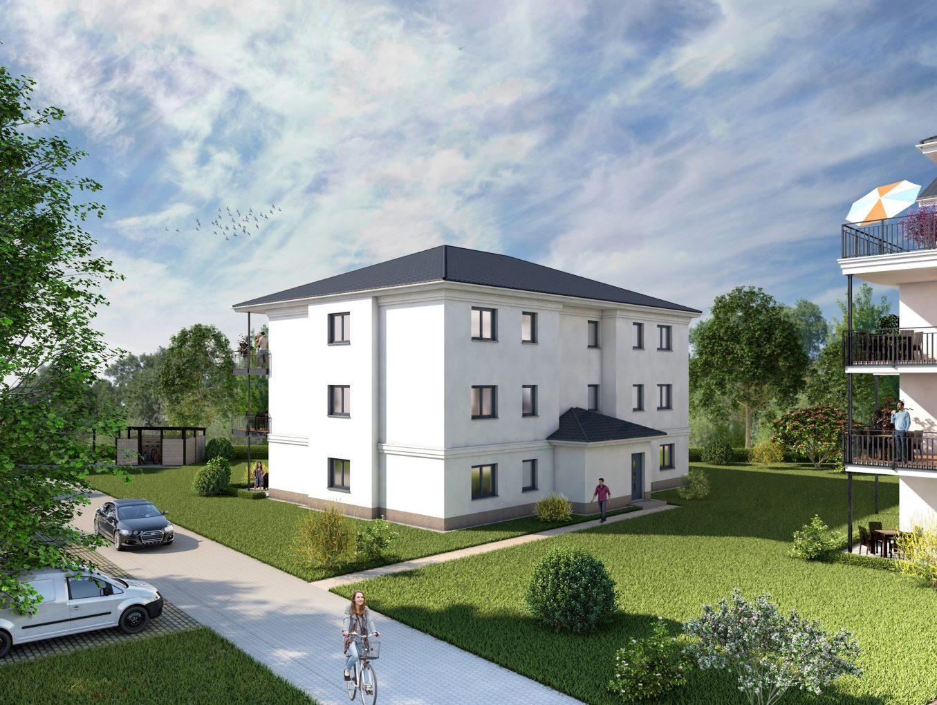 Eigentumswohnung in der Cottbuser Ackerstrasse – Wohnen auf 90m² im GRÜNEN