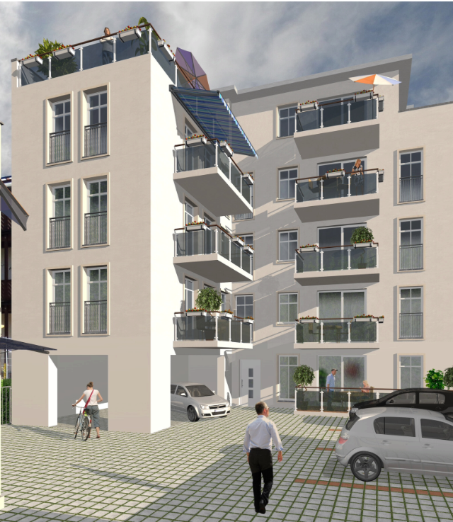 Eigentumswohnung in der Cottbuser Berliner Straße - Wohnen auf ca. 100m² in der Stadtmitte