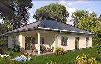 Bauvorhaben Bungalow Neubau in Kahren Wohnen im grünen in Cottbus